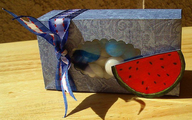 Box die #2 - Bubble gum box