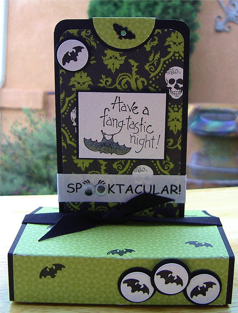 Halloween Stand Up Pop Up Card