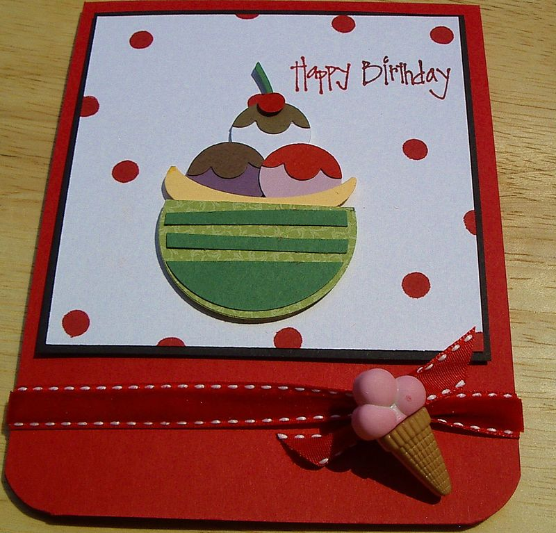Happy birthday - punches card