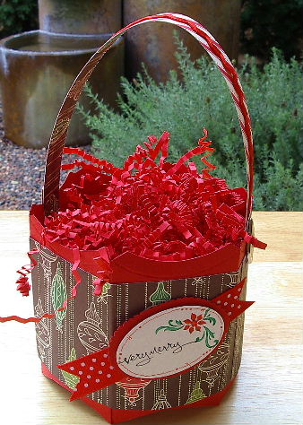 Pillow Box - Xmas Bucket