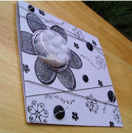 Sweet Treat Cup - Black - white cd