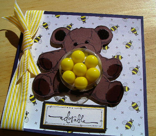 Bear belly sweet treat cup