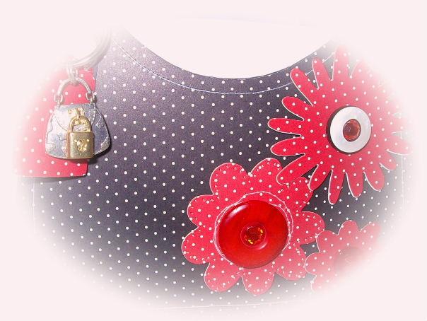 Black Polka Dot purse #3
