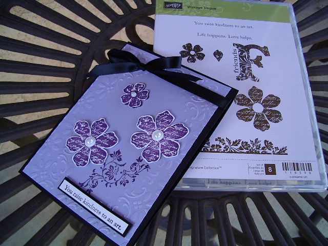 You Raise Kindness - purple card