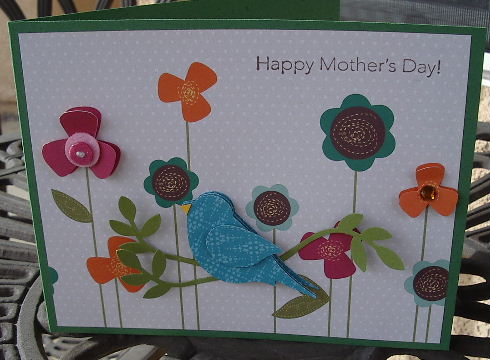 Mother Day bird punched cd