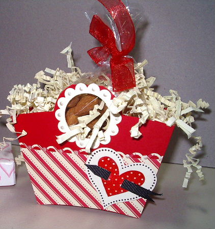 Basket & Bloom die Valentines box