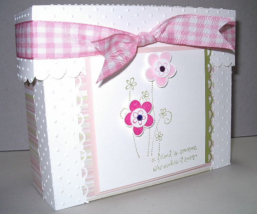 White stationary box