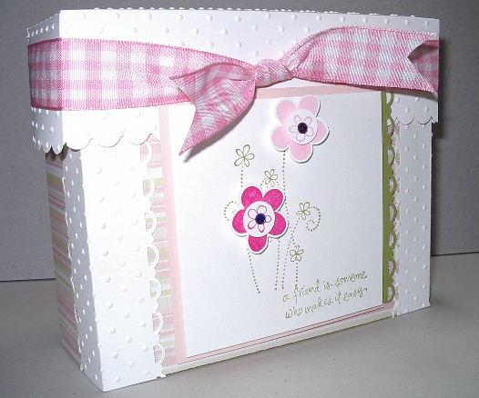 White stationary box