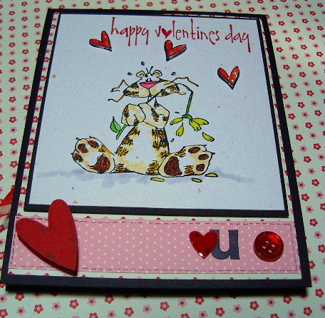Stamps by Judith cat Valentines