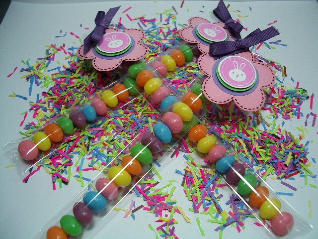 Easter Wonka jelly bean tube bags
