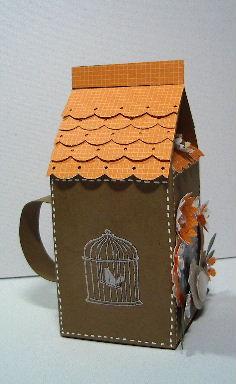 Papertrey Milk Carton birdhouse-2