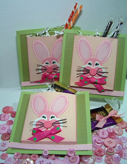 Easter Bunny pocket cards