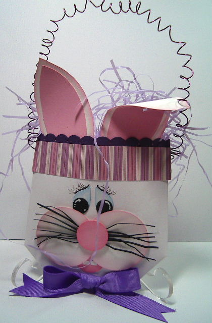 Easter bunny Large treat envelope