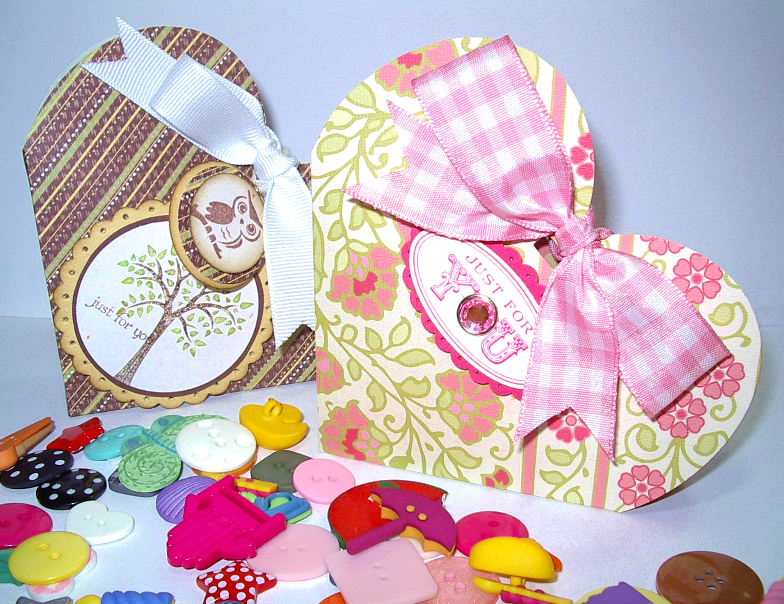 Sizzix Heart boxes(2)