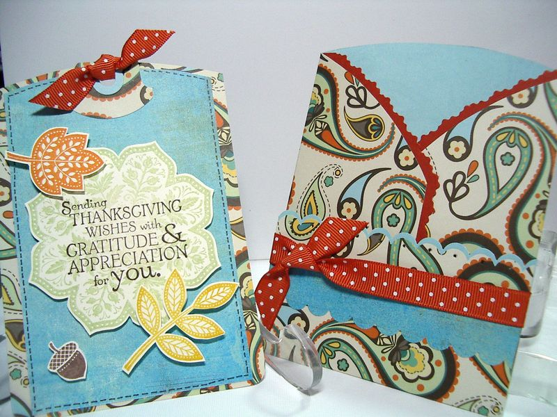Trifold Thanksgiving card