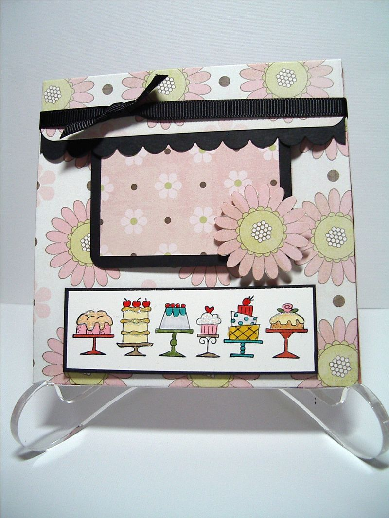 Birthday Bakery card box