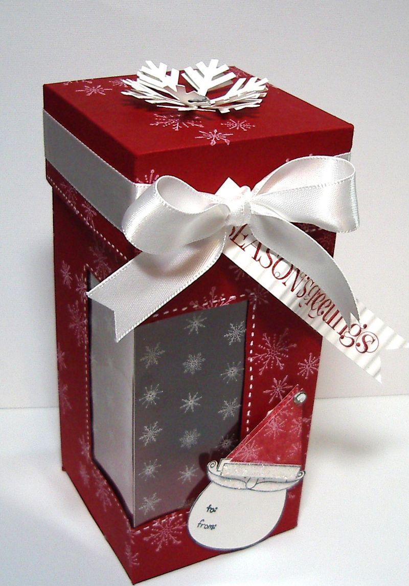 Santa - Candy Cane box