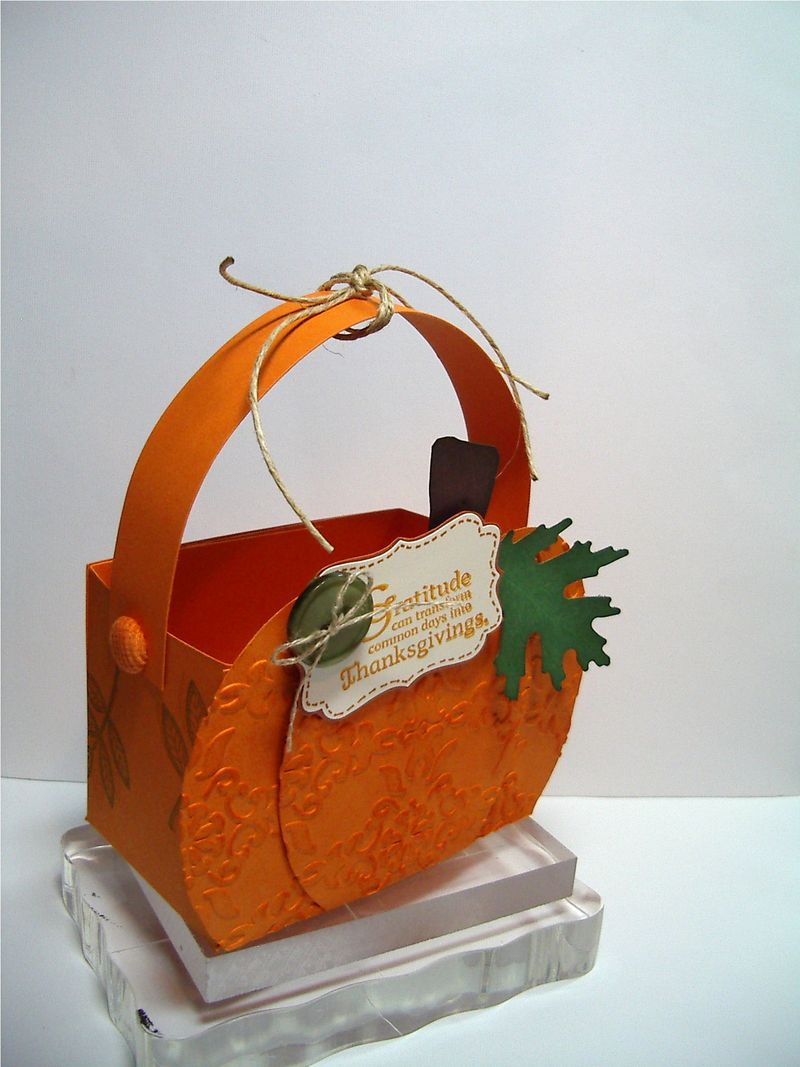 Gratitude - Pumpkin Treat Box