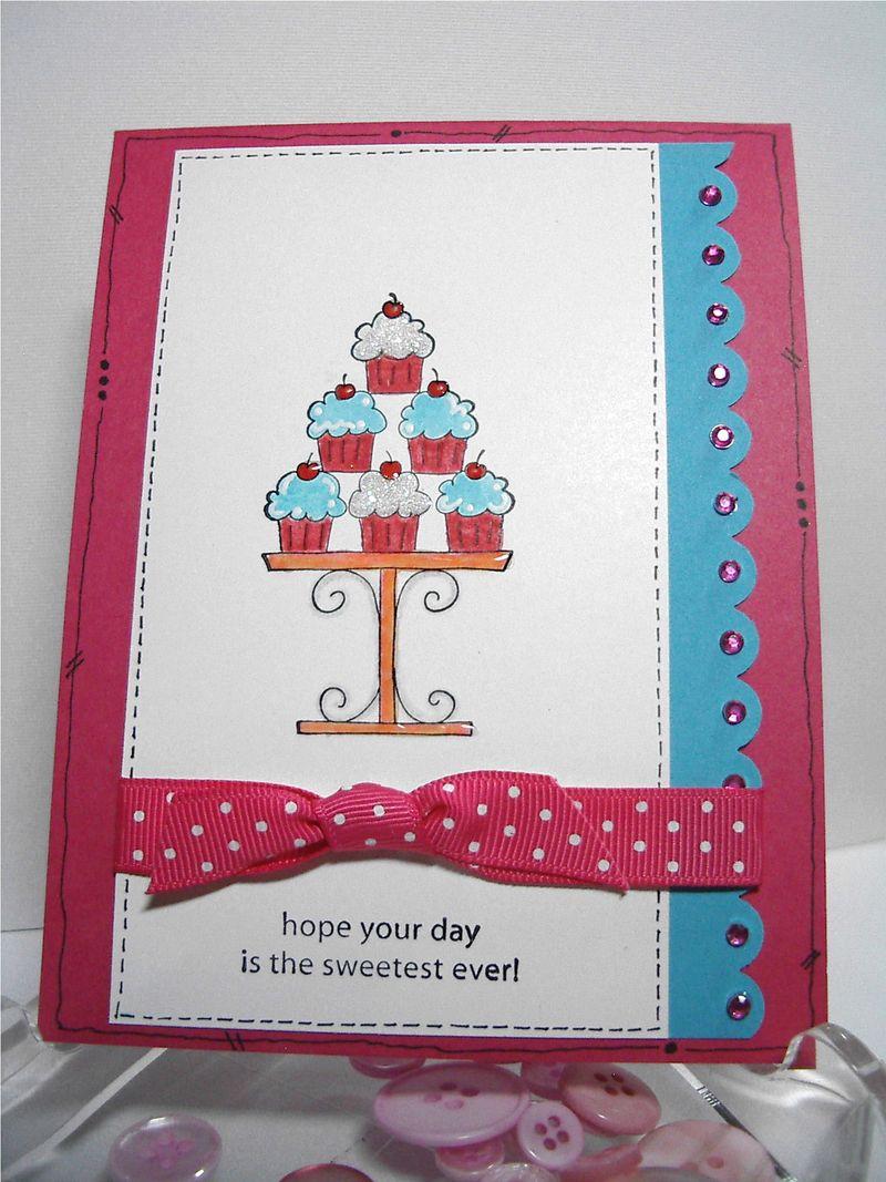 Cupcake card #1