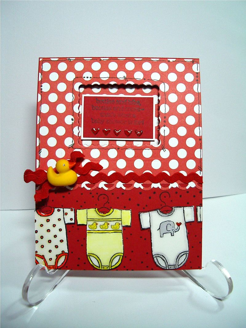 Baby Bundle card
