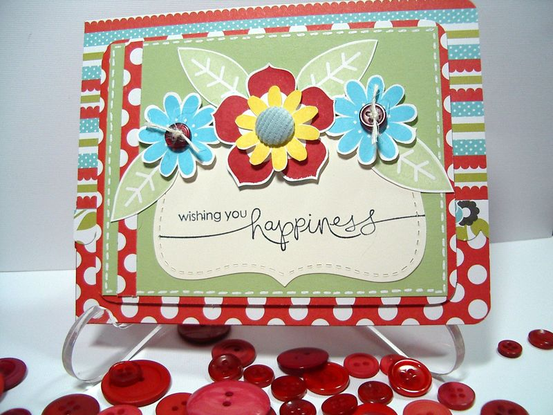 Petal Pizzazz - Happiness card