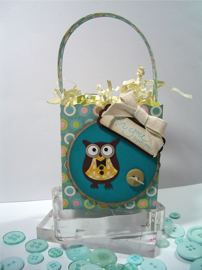 Owl-Fancy Favor box