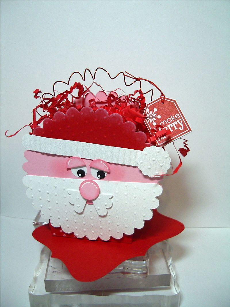 Santa Face box