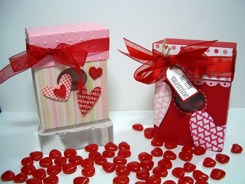 Be My Valentines small boxes