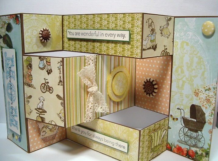 Mothers Day shutter card