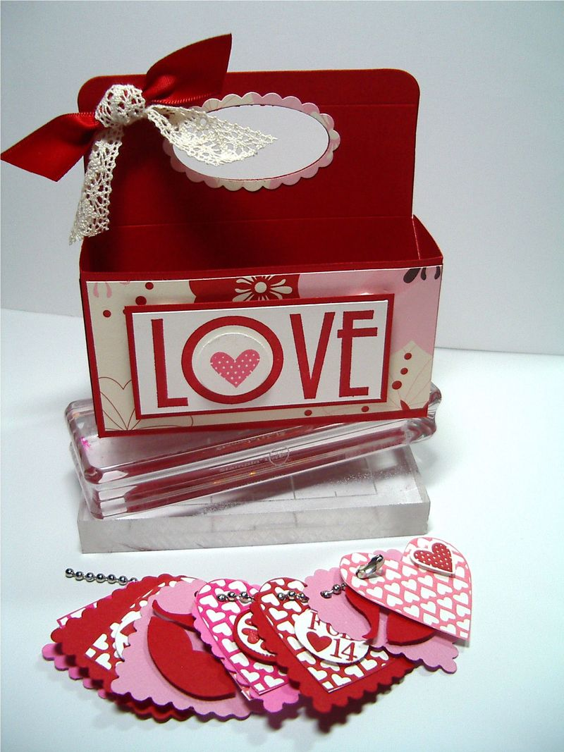 LOVE Box and charms