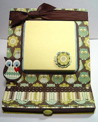 Easel OwlBox card