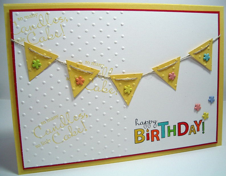 Stampin Up Bring On The Cake Stamp Set 2 Completely Different