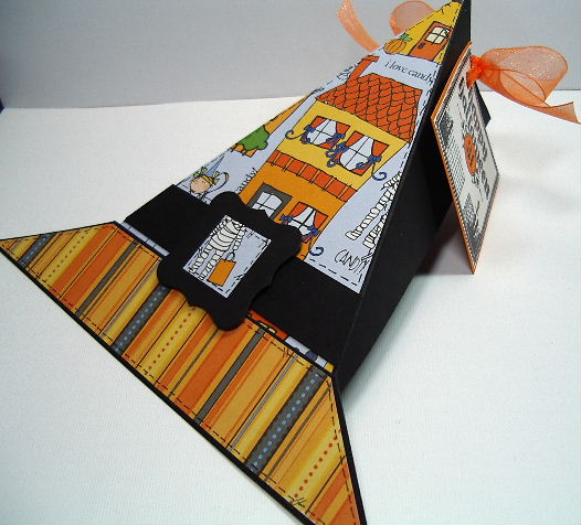 Halloween Witch Hat treat box