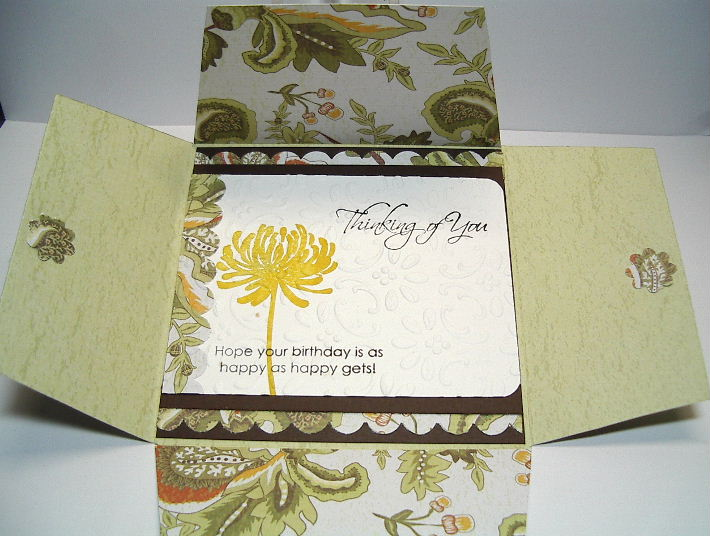 Envelope Card - open