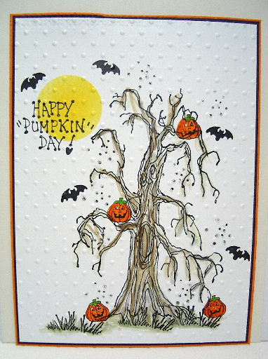 Halloween Tree - stamps by Judith