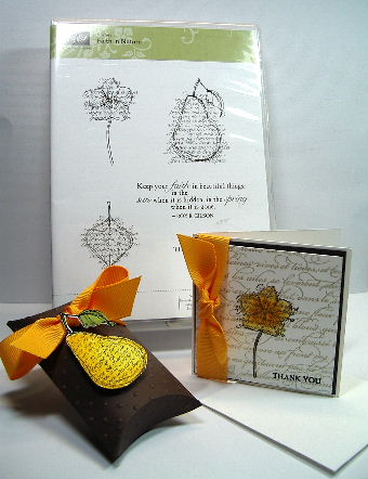 Faith in Nature Thank You note card
