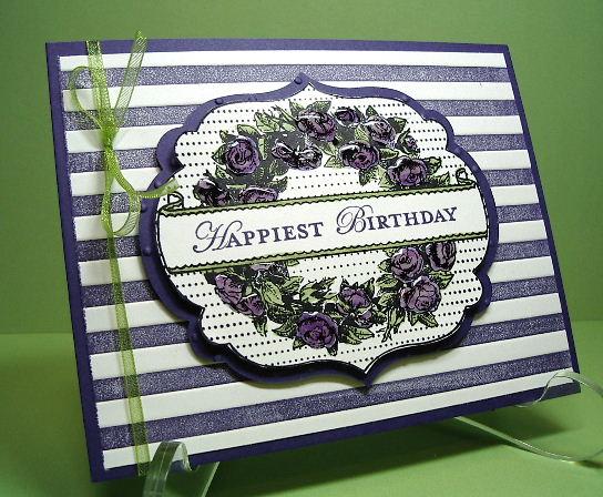 Framelits Happiest B-Day card