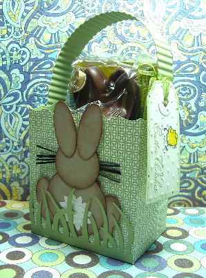 Choc Bunny Bag-Punch out