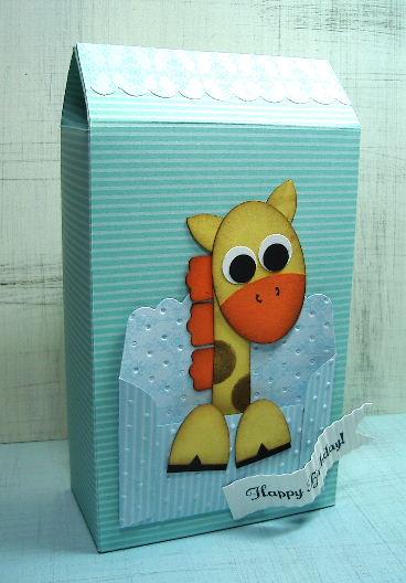 Punched Giraffe Box