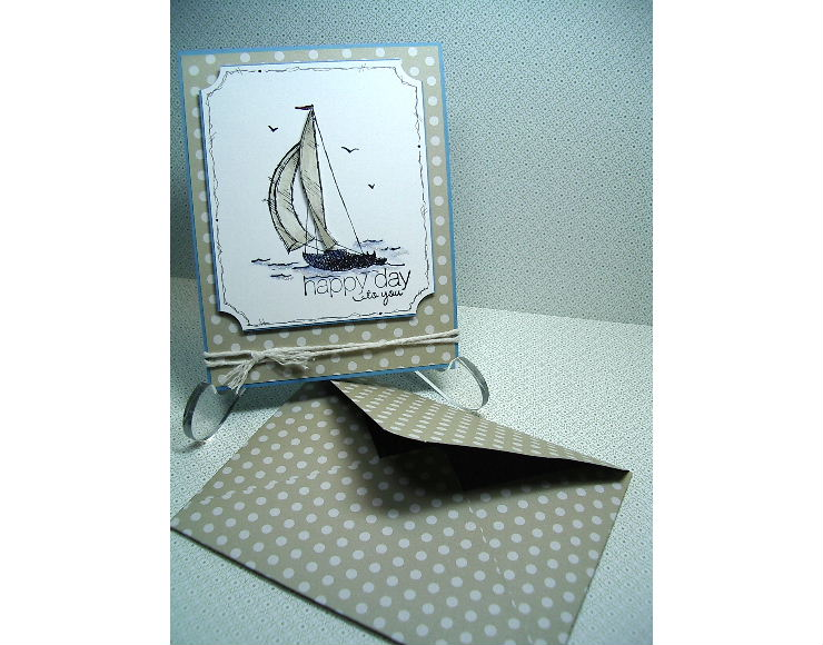 Sail away birthday card using stampin up punched lion by jackie sail away card and envelope bookmarktalkfo Gallery