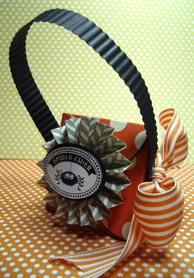Halloween spider Petal Cone