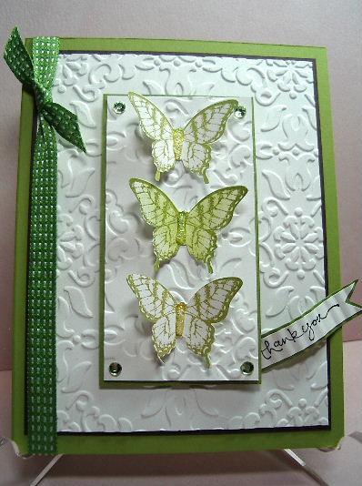 Butterflies - Potpourri card