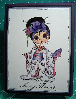 Card - Alcohol ink #8